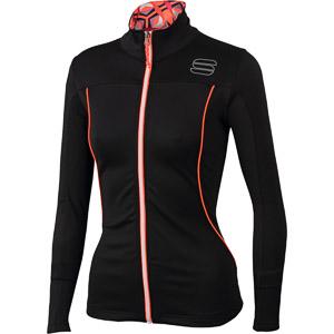 Sportful Rythmo mikina dámska čierna/červená