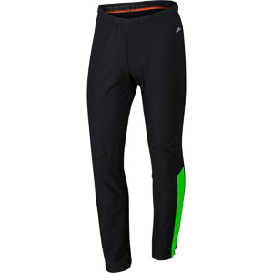 Sportful Squadra Windstopper Nohavice fluo zelené/čierne