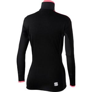 Sportful Squadra bunda dámska čierna/fluo koralová