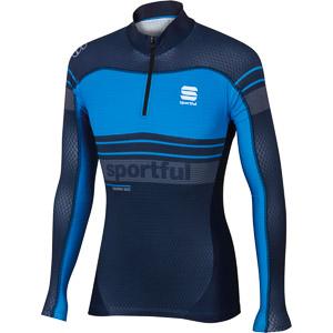 Sportful Squadra Race Top čierny/modrý/sivý