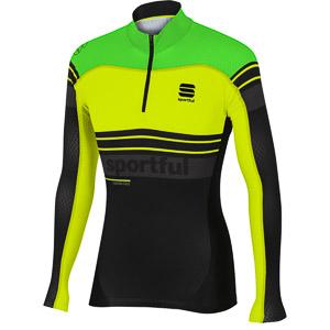 Sportful Squadra Race Top fluo zelený/fluo žltý/čierny