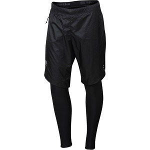 Sportful Cardio Wind Nohavice čierne