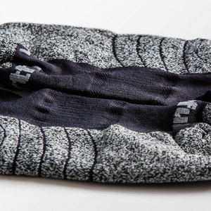 Sportful WOOL ponožky oranžové/čierne