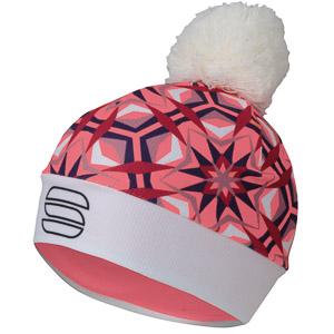 Sportful Rythmo čiapka dámska ružová/červená/biela