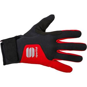 Sportful WS Essential xc Rukavice červené/čierne