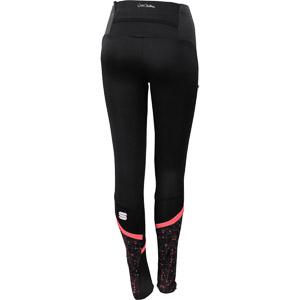 Sportful Doro WindStopper nohavice dámske čierne/fluo koralové