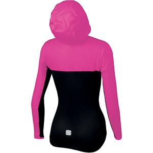 Sportful Xplore dámska bunda ružová/čierna