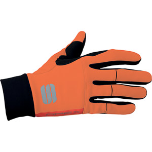 Sportful Apex rukavice oranžové/čierne