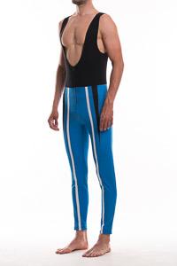 Sportful Davos Nohavice na traky modrá-čierna