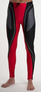 Sportful Lake Placid Elast. Nohavice čierne-červené