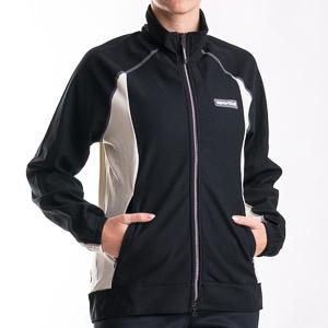Sportful Cortina WindStopper Bunda dámska čierna/biela