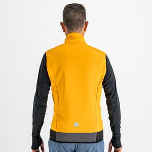 Sportful CARDIO TECH WIND vesta tmavo žltá