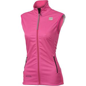 Sportful SQUADRA GORE-TEX INFINIUM dámska vesta ružová