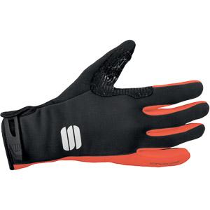 Sportful Windstopper Essential xc rukavice čierne/oranžové
