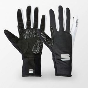 Sportful Stella Windstopper XC rukavice čierne/biele