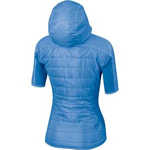 Sportful Rythmo Evo Puffy dámska bunda s kr. rukávom modrá