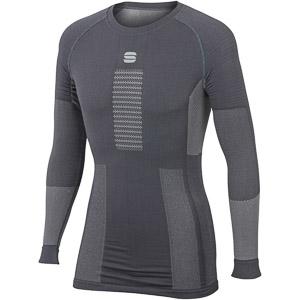 Sportful 2nd SKIN tričko s dlhým rukávom tmavosivé