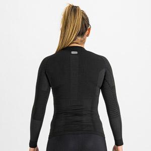 Sportful 2nd SKIN dámske tričko s dlhým rukávom čierne