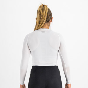Sportful 2nd SKIN dámske tričko s dlhým rukávom biele