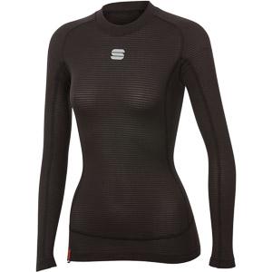 Sportful TD MID dámske tričko s dlhým rukávom čierne