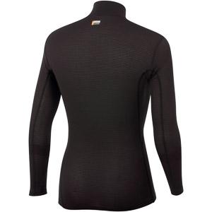 Sportful TD MID top so zipsom a dlhým rukávom čierny