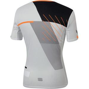 Sportful TRAINING top biely/oranžový SDR