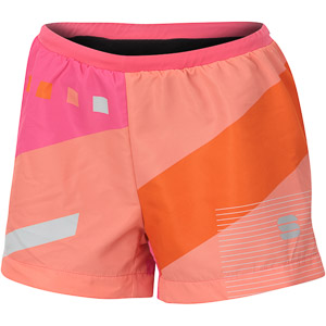 Sportful TRAINING dámske kraťasy ružové/oranžové