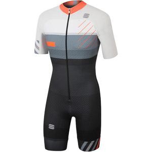 Sportful TRAINING SKIROLL dres čierny/biely/oranžový SDR