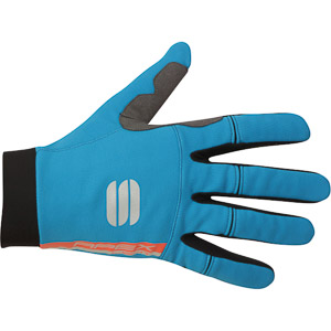 Sportful APEX LIGHT rukavice čierne/svetlomodré