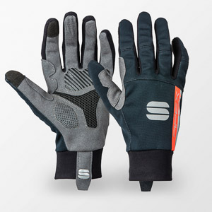 Sportful APEX LIGHT dámske rukavice čierne/čierne