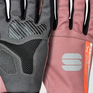Sportful APEX LIGHT dámske rukavice fialové