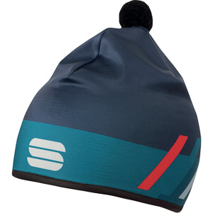 Sportful SQUADRA RACE čiapka modrá/červená