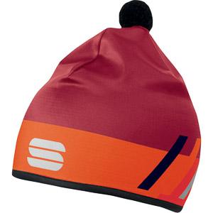 Sportful SQUADRA RACE čiapka červená/oranžová