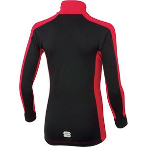 Sportful SQUADRA  Junior bunda červená/čierna