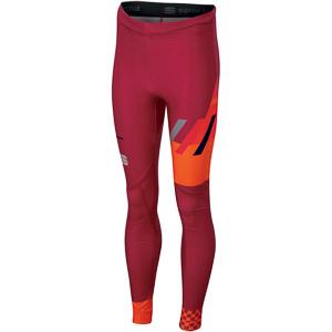 Sportful SQUADRA  Junior elasťáky červené/tmavomodré