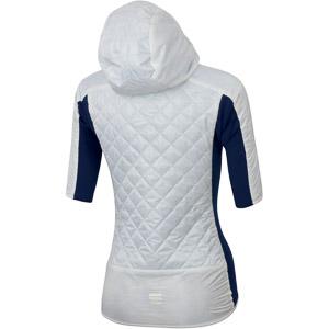 Sportful DORO RYTHMO PUFFY bunda krátky rukáv modrá/biela