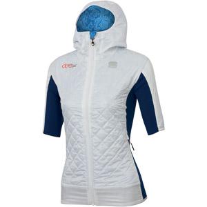 Sportful DORO RYTHMO PUFFY bunda krátky rukáv azúrové/modré/biele