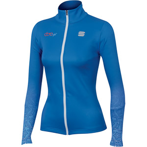 Sportful DORO RYTHMO mikina azúrová/modrá/biela