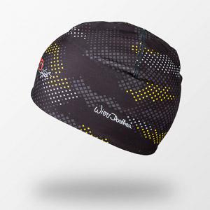 Sportful DORO čiapka čierna/žltá