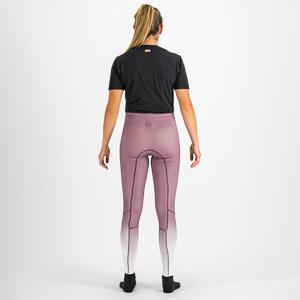 Sportful APEX dámsky elasťáky fialové/ žiarivo biele