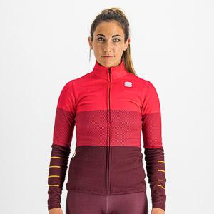 Sportful SQUADRA dámsky dres malinový/vínovočervený