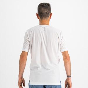 Sportful CARDIO dres krátky rukáv žiarivo biely