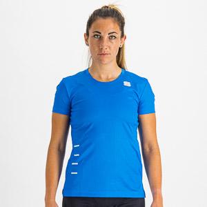 Sportful CARDIO dámsky dres krátky rukáv briliantovo modrý