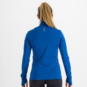 Sportful CARDIO TECH dámsky dres dlhý rukáv modrý