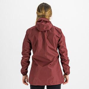 Sportful XPLORE dámska bunda HARDSHELL vínovočervená