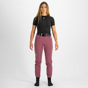 Sportful XPLORE dámske nohavice fialové