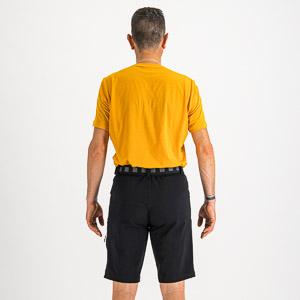 Sportful XPLORE kraťasy čierne/žlté
