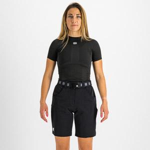 Sportful XPLORE dámske kraťasy čierne/žlté