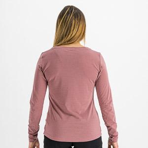 Sportful XPLORE dámske tričko dlhý rukáv fialové