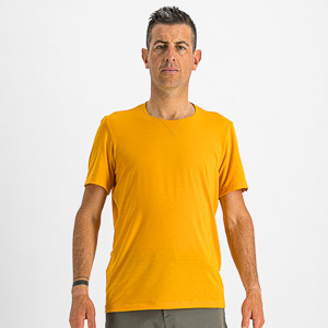 Sportful XPLORE tričko krátky rukáv tmavozlaté